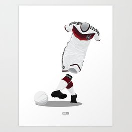 Germany - World Cup 2014 Finalists Art Print