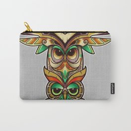 Owl totem - Carry-All Pouch