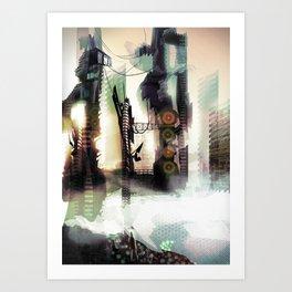 City Lost Art Print