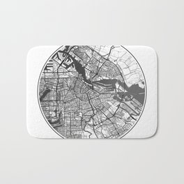 Amsterdam Map Universe Bath Mat