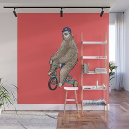 Haters Gonna Hate Sloth Wall Mural
