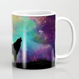 Wolf Galaxy Coffee Mug