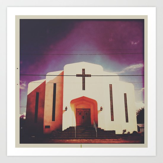 church Art Print