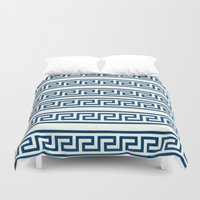 greek Duvet Covers featuring Greek II by Mr and Mrs Quirynen