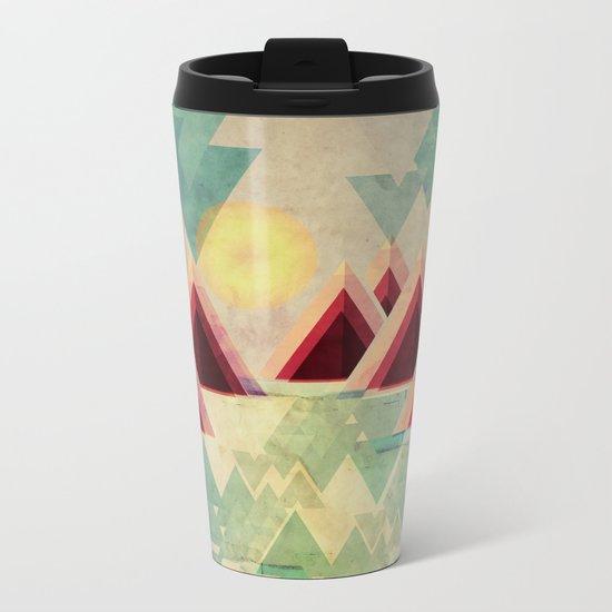 Mountain Lake Metal Travel Mug