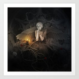 I of the Mourning Art Print