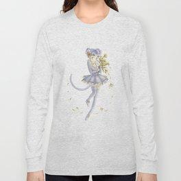 Diana´s human form Sailormoon fanart Long Sleeve T-shirt