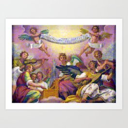 Angels in Rome Art Print
