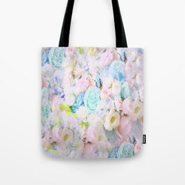 ROSE WHISPERER FADE OUT MOSAIC IMPRESSION Tote Bag