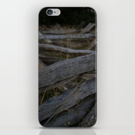 Holding the Line iPhone Skin