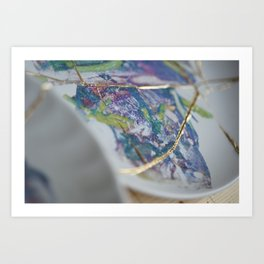 The fish I tasted at home Art Print