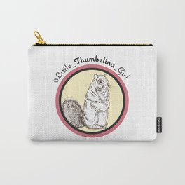 Little Thumbelina Girl: meerkat circle Carry-All Pouch