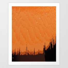 marmalade city Art Print