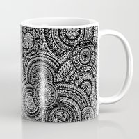 fibonacci Mugs featuring Raindrops by Eurimos