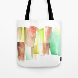 [161228] 15. Abstract Watercolour Color Study  |Watercolor Brush Stroke Tote Bag