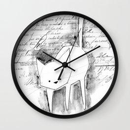 minima - deco cat Wall Clock