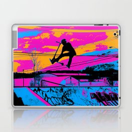 Lets Fly!  - Stunt Scooter Laptop & iPad Skin