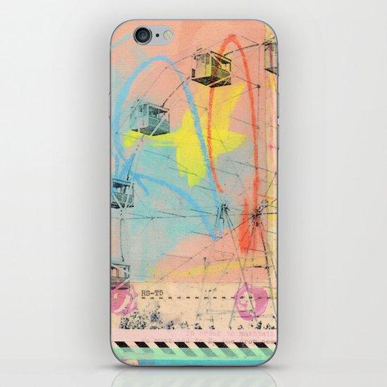 """""""Whirls"""" iPhone & iPod Skin"""