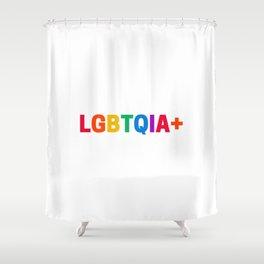 LGBTQIA+ Shower Curtain