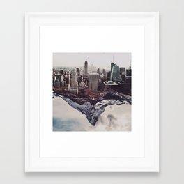 Contradiction Framed Art Print
