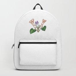 V is for Violet Backpack