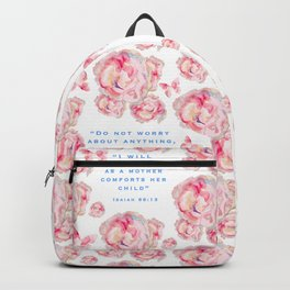 Wrap yourself in the promises of God Backpack