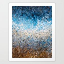 Abstract Art - Carry Me Home Art Print