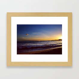 Submarine Cloud Framed Art Print