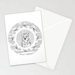 Pack of Coyotes Stationery Cards