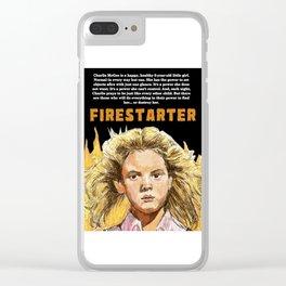 Firestarter Clear iPhone Case