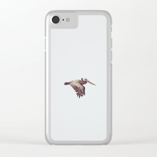Solo Flight Clear iPhone Case