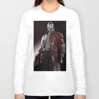 star lord Long Sleeve T-shirts featuring Star Lord Fan Art by Vito Fabrizio Brugnola