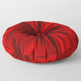 Red Origami Flowers #decor #society6 Floor Pillow