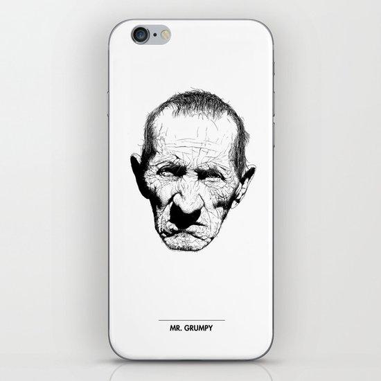 Mr. Grumpy iPhone & iPod Skin
