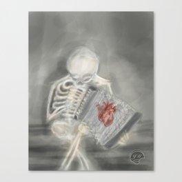 Just Bones Canvas Print