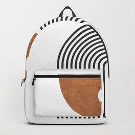 Ver Sacrum 1 - Minimal Geometric Abstract Backpack