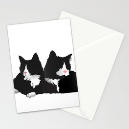 Fancy-Shmancy Tuxedos Stationery Cards
