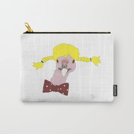 Spunky Turkey Yellow Hair Carry-All Pouch