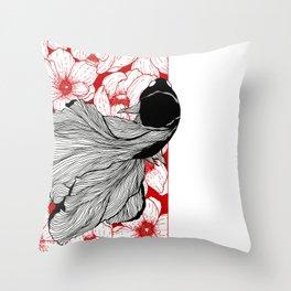 Betta Series: Two Throw Pillow