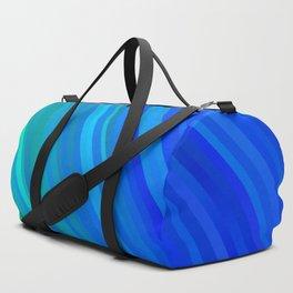 stripes wave pattern 1 stdv Duffle Bag