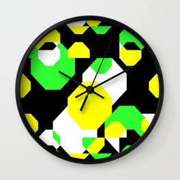 Water Reflections Wall Clock
