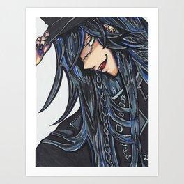The Undertaker (Black Butler) Art Print