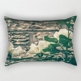 Moody Roses Rectangular Pillow