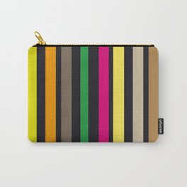 bold stripes and color Carry-All Pouch