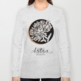 Aster. Keep doing what you love Long Sleeve T-shirt