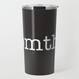 BMTH Simple Text Travel Mug