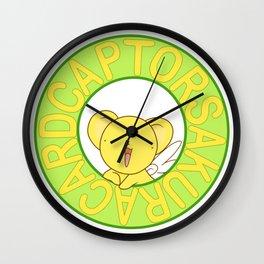 cardcaptor sakura kerochan Wall Clock
