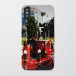Little red tug Boat iPhone Case