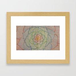 Flower Surprise Framed Art Print