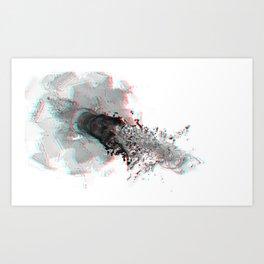 Chrysocolla (series) - 13 Art Print